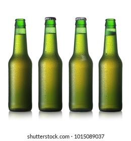 green beer glass