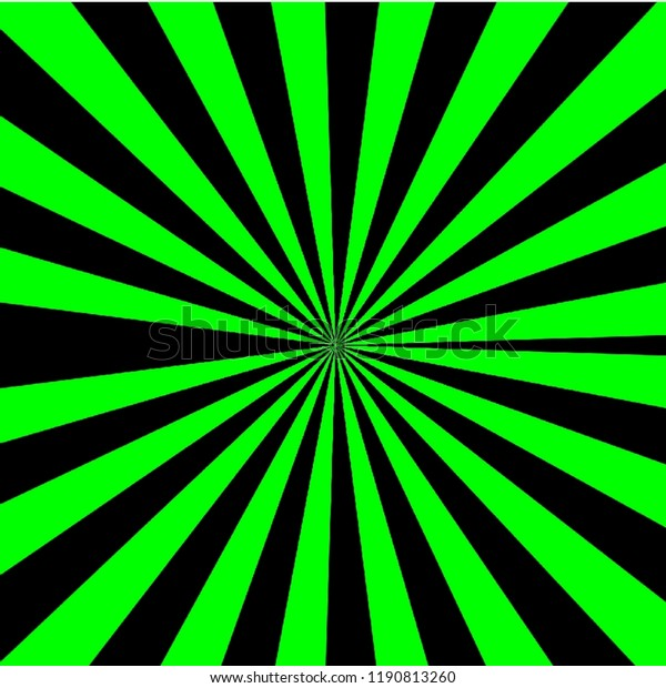 Green Black Line Colorful Abstract Wallpaper Stock