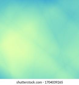 Diseño de papel pintado en blanco abstracto de color azul verde