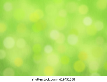 green blur bokeh summer background