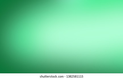 Green blurred background. - Illustration