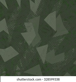 Green camouflage texture background