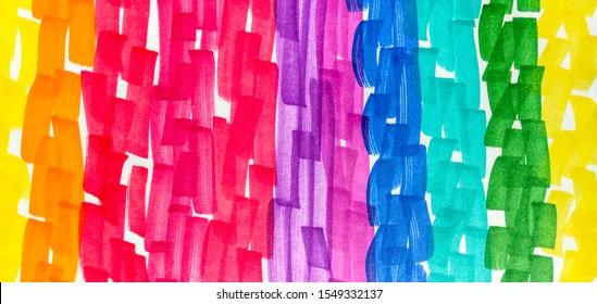 Green Cinnamon Rainbow Hand Drawn Stroke. Camel Fuchsia Energetic Positive Marker Stripes Backdrop. Seafoam Shibori Brush Lines. Red Energetic Positive Marker Stripes Backdrop.
