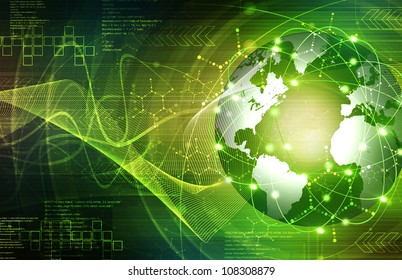 Green Earth technology Background