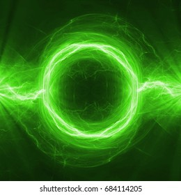 Green energy, abstract plasma power