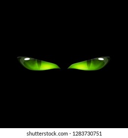 Green Eyes Snake