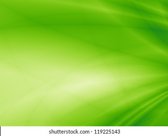 Green flow energy abstract art website background