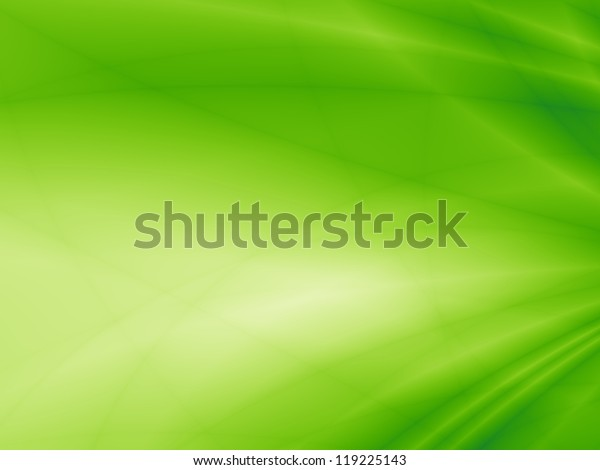 Green flow energy abstract art background