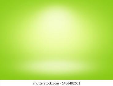 Green gradient background limbo classic