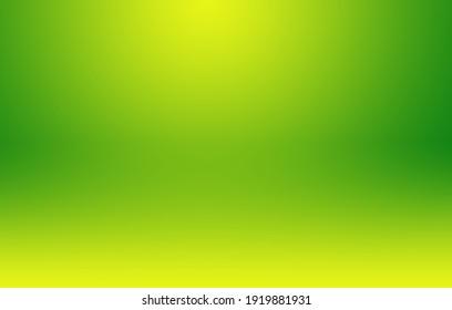 Green gradient background. Warm shades.