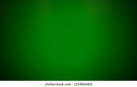Green gradient. blurred abstract background