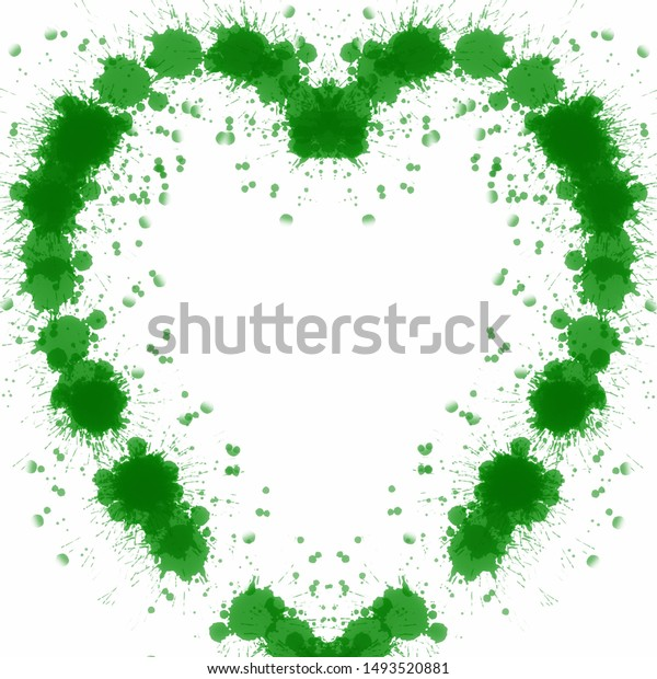 green heart on white background 600w 1493520881