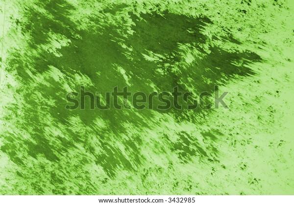 Green Ink Grunge - High Resolution Illustration