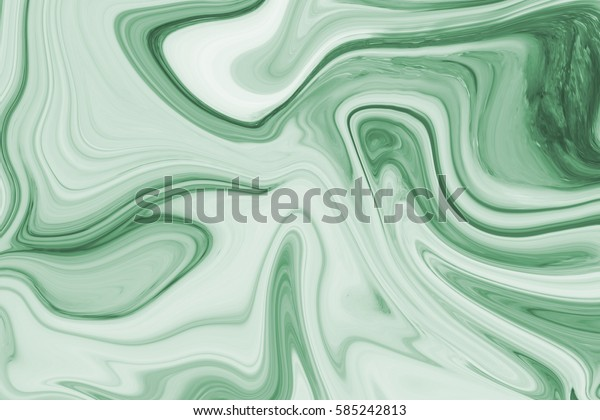 green marble ink pattern texture abstract background. can be used for background or wallpaper