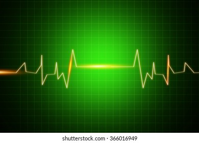 Green medical or science background