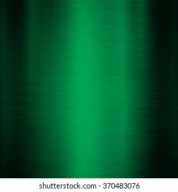 Green metal background