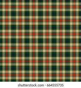 Green and orange lines checkered seamless wallpaper pattern
