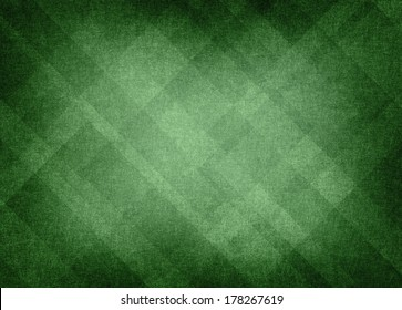 green plaid background abstract design, distressed background texture layout of diamond element pattern, bright center with vignette black border, green