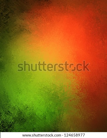 Green Red Background Abstract Paint Color Stock Illustration