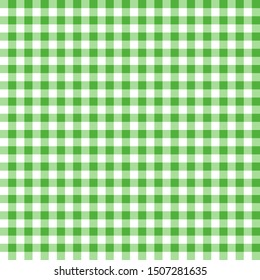 Green seamless table cloth texture.