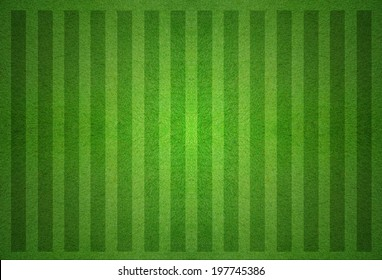 green soccer field from top view.