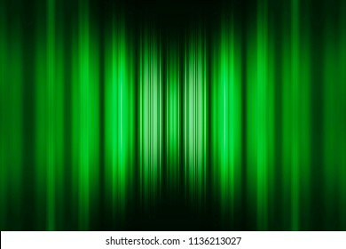 Green speed stripes background with selective focus centre highlight