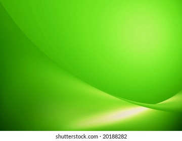 green style background