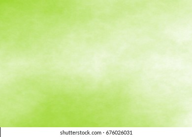 green watercolor abstract background. Digital art painting.