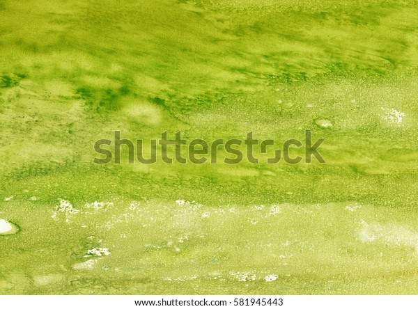 green watercolor background, abstract background