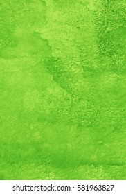 green watercolor background, juicy and bright background