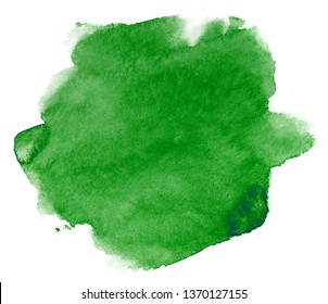 green watercolor stain