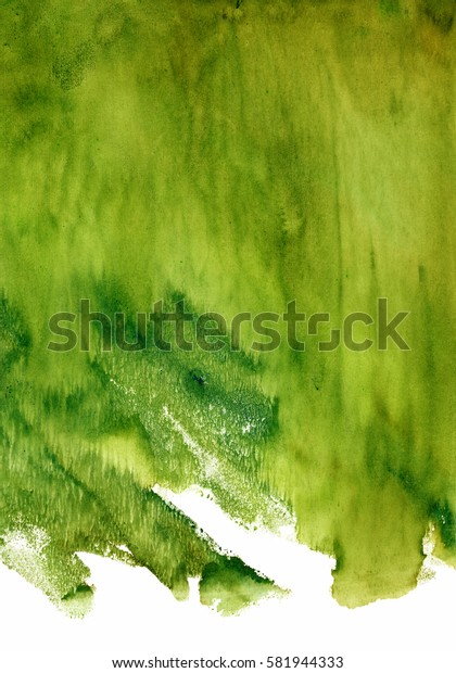 green watercolor stain, spectacular spots