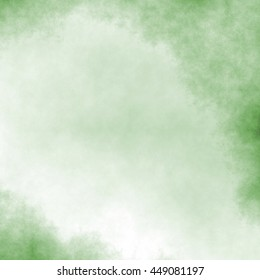 green watercolor texture - abstract grainy clouds pattern