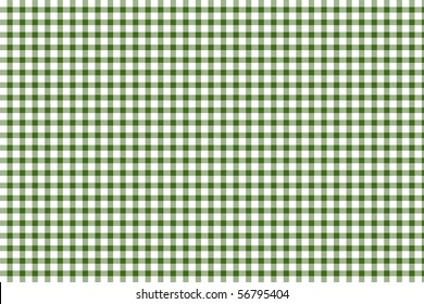 Green and white gingham - seamless texture