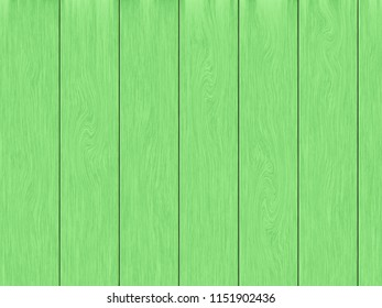 Green wood planks texture background.
