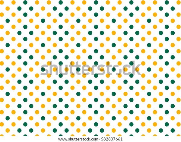 Green yellow dots pattern