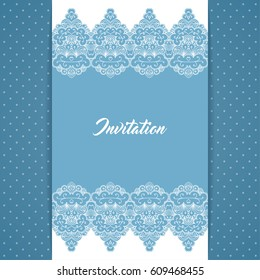 greeting card invitation template retro style stock vector royalty