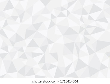 Grey background for design of geometric triangle shapes
