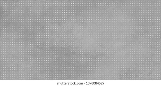 Grey background with White Dotted image. Rustic Grey Texture.