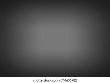 Grey black paper gradient background.