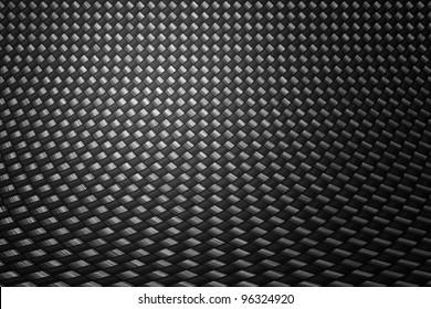Grey carbon fiber background