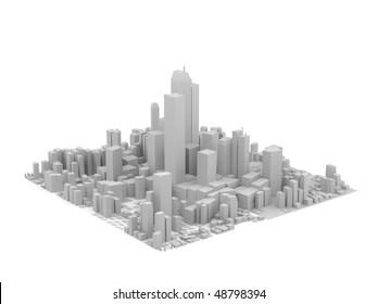 City 3d Model Images, Stock Photos & Vectors | Shutterstock