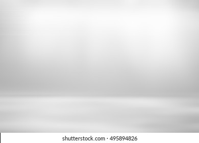 Grey gradient abstract background / gray room studio with spotlight background