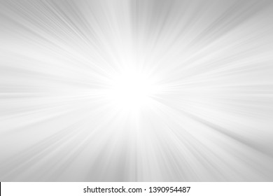 Grey gradient ray burst background - hypnotic illustration graphic from radial rays