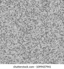 Grey grainy granular chaotic seamless texture background