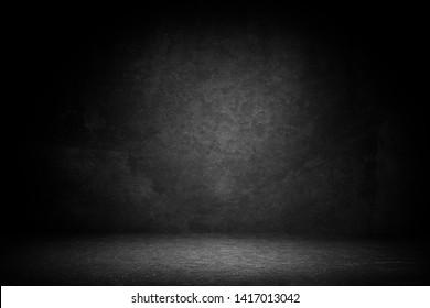 Grey grunge textured wall background.