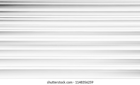 Grey parallel horizontal and stripes for background. Area, Ribbon and Wall. Paradoxical white and gray lines.