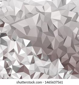 Grey polygon 3d texture background