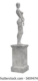Grey statue