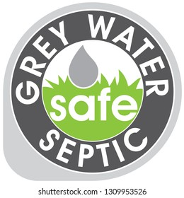 Grey Water Septic Safe Icon